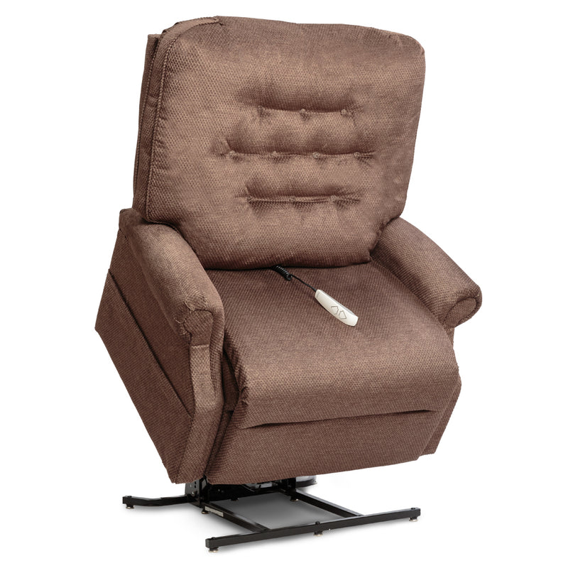 Walnut New Pride Mobility Heritage Collection LC-358XXL (Very Heavy-Duty) Lift Chair Recliner