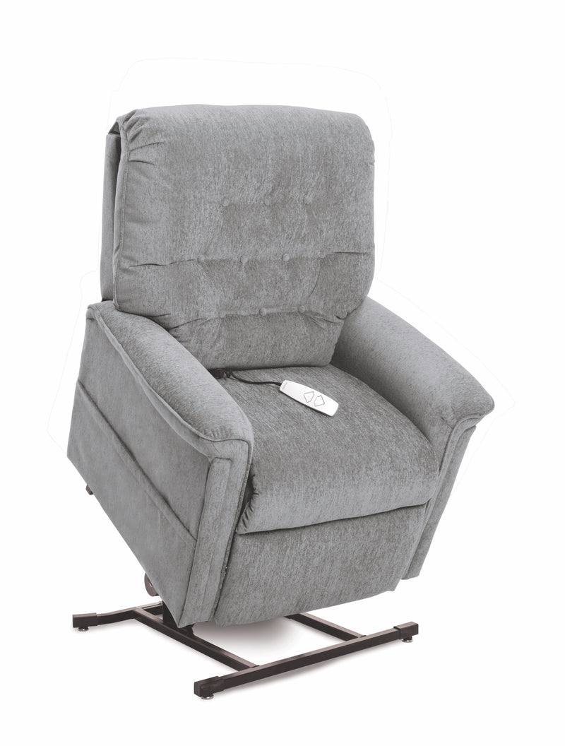 Cool Grey New Pride Mobility Heritage Collection LC-358M (Medium) Lift Chair Recliner