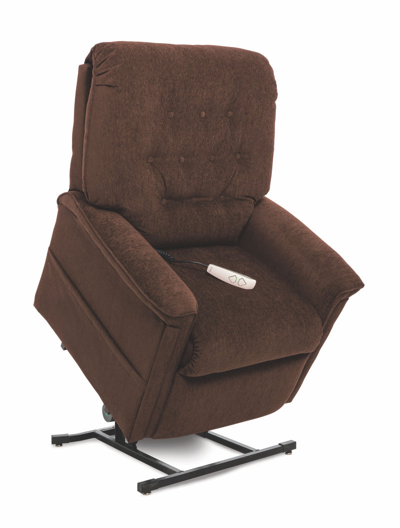 Espresso New Pride Mobility Heritage Collection LC-358M (Medium) Lift Chair Recliner