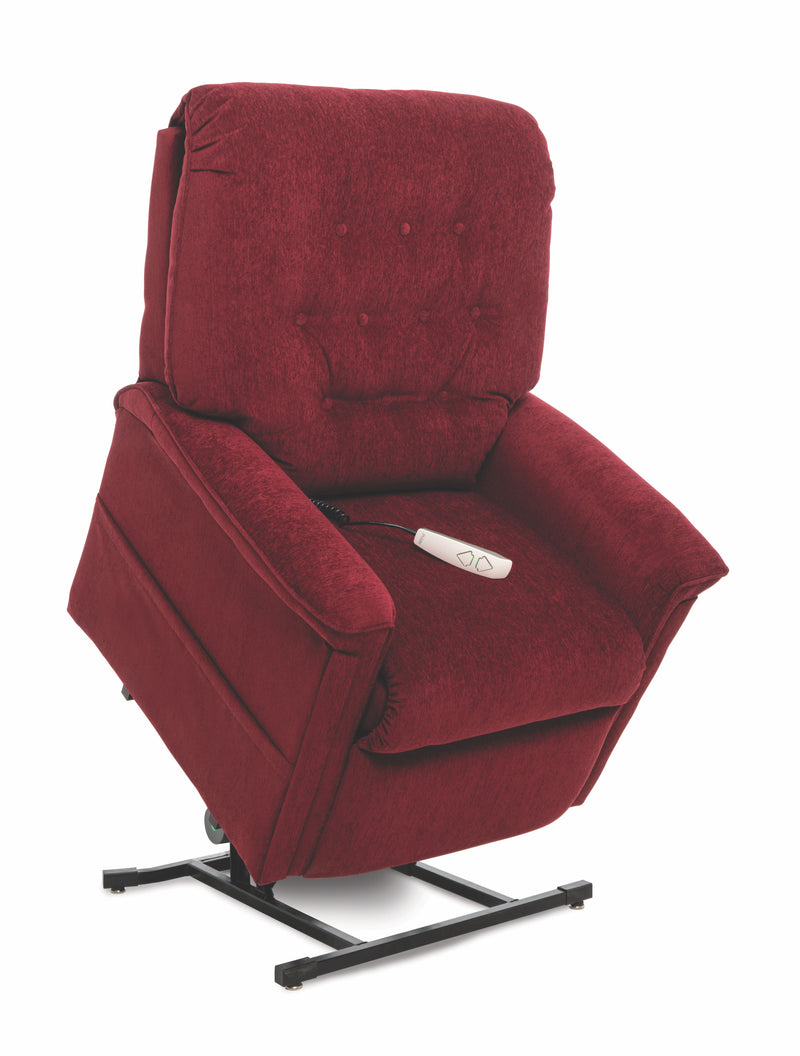 Red New Pride Mobility Heritage Collection LC-358M (Medium) Lift Chair Recliner