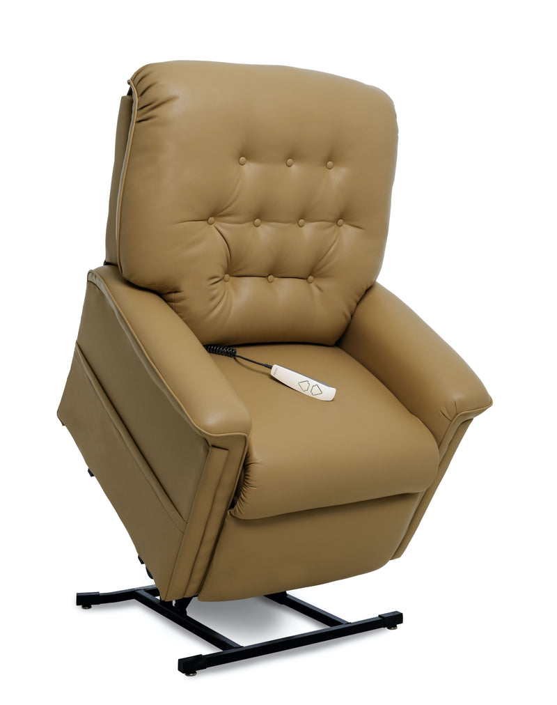 Pecan New Pride Mobility Heritage Collection LC-358M (Medium) Lift Chair Recliner