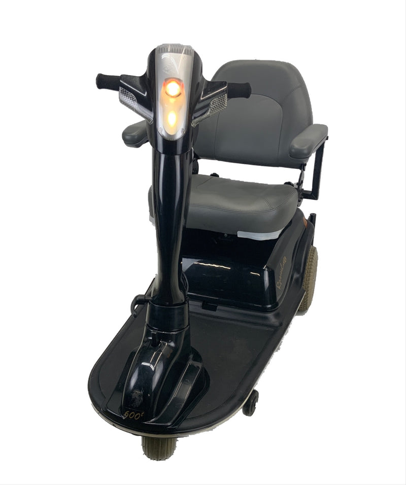Lights on Rascal 600T Electric 3-Wheel Scooter  Seat Elevating Capabilities  450 lbs. Weight Capacity  19 x 16 Seat  Lighting Kit