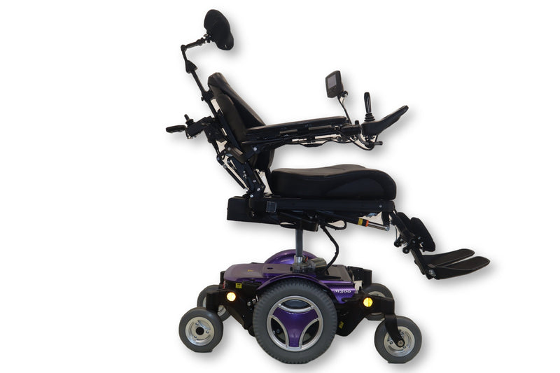 "Permobil M300 Power Chair With Seat Elevate, Tilt, Recline, Legs | 18""x19"" Seat - Power Chairs Test"