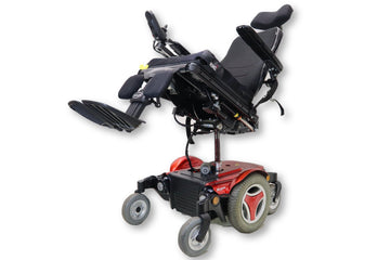 "Permobil M300 Electric Wheelchair | Seat Elevate | Tilt | Recline | Leg Elevate | 17"" x 18"" Seat"