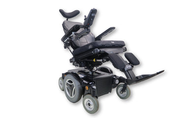 "Permobil M300 Power Chair | Tilt | Recline | Power Legs | 18"" x 18"" Seat"