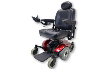 "Invacare M41 SureStep Power Chair 19""x19"" up to 300 lbs Capacity Mid Wheel Drive"