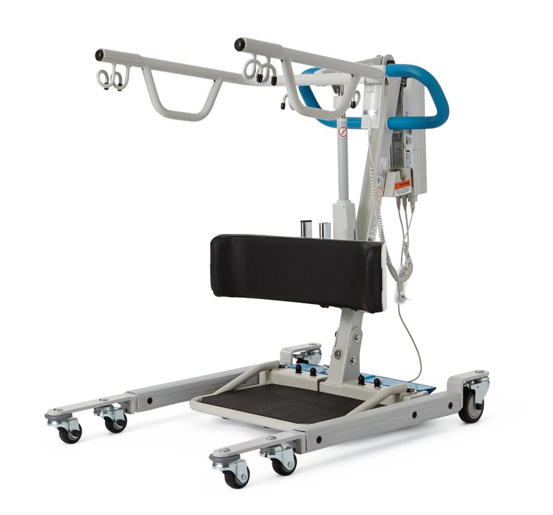 Medline MDS500SA Stand Assist Patient Lift With Power Operated Base | Bariatric Heavy Duty Sit-to-Stand | 500lbs. Weight Capacity - Power Chairs Test