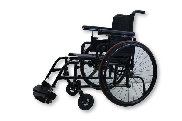 Quickie 2 Manual Wheelchair By Sunrise Medical With Swing Away Leg Rest