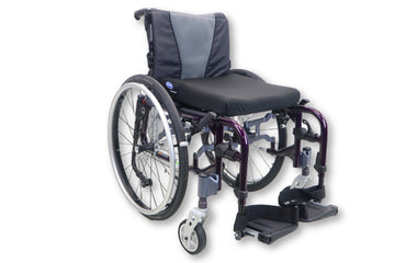 "Invacare MyOn Ultralight Weight Manual Wheelchair | Tension-Adjustable | 15""x16"""