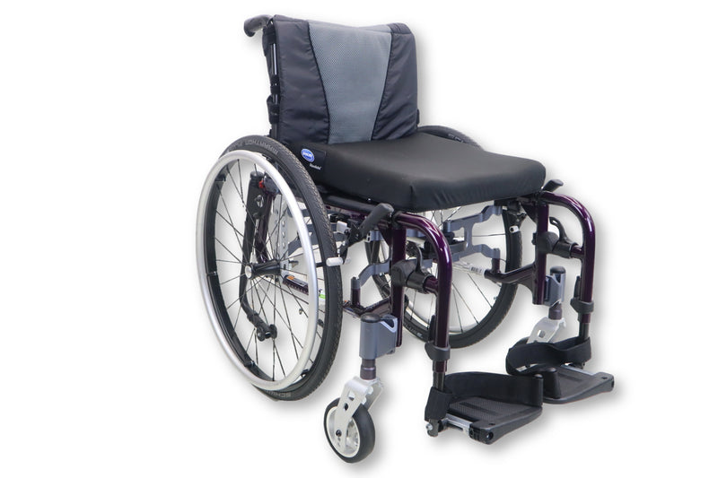 "Invacare MyOn Ultralight Weight Manual Wheelchair | Tension-Adjustable | 15""x16"" - Power Chairs Test"