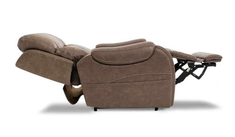 Pride VivaLift Atlas PLR-985M Lift Chair Recliner Mushroom Lay Flat