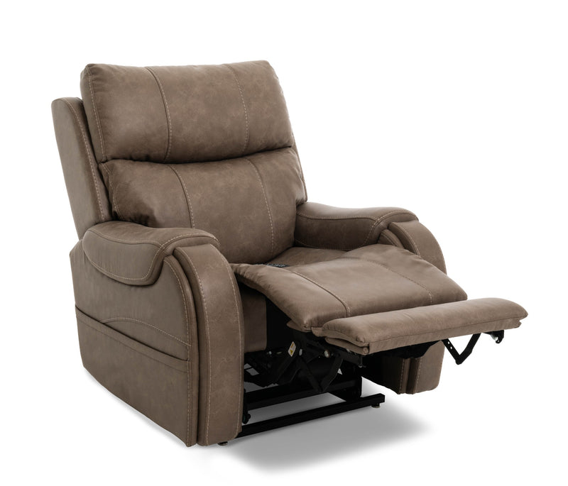 Pride VivaLift Atlas PLR-985M Lift Chair Recliner Mushroom Reading