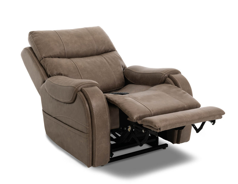 Pride VivaLift Atlas PLR-985M Lift Chair Mushroom Reclined
