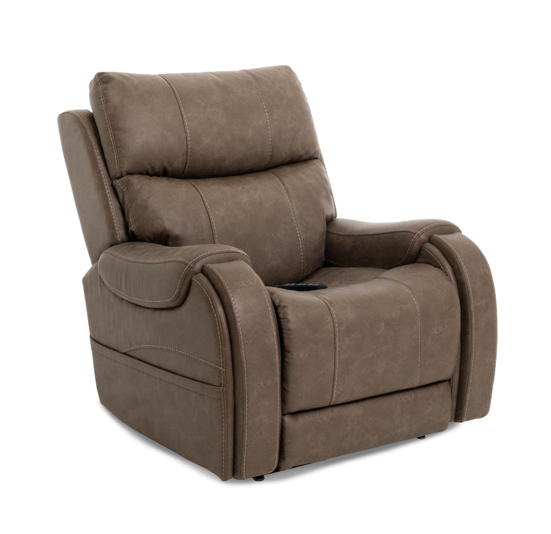 Pride VivaLift Atlas PLR-985M Lift Chair Recliner Mushroom Seated