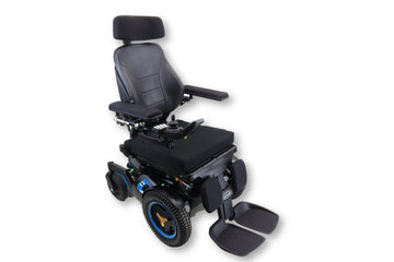 "Permobil F3 Power Chair | Tilt, Recline & Power Legs | 18""x18"" Seat 