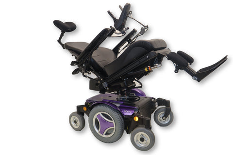 Permobil M300 Power Chair With Seat Elevate, Tilt, Recline, Legs | 18