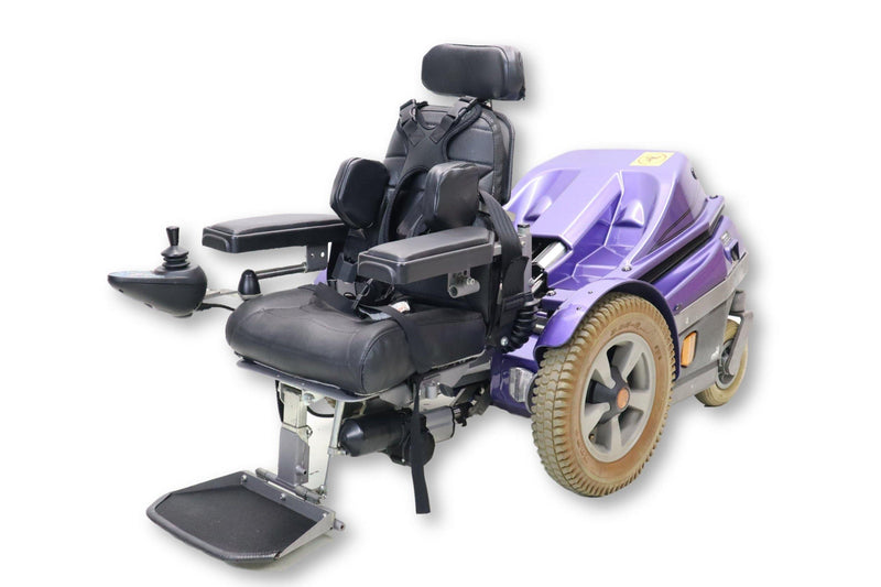 "Permobil Playman Electric Power Wheelchair | Seat Elevate | Tilt | Seat Lowering | 13"" x 12"" Seat - Power Chairs Test"