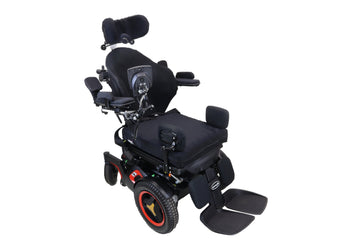 Permobil F3 Power Chair Tilt, Recline, Power Legs & Elevate | Attendant Control