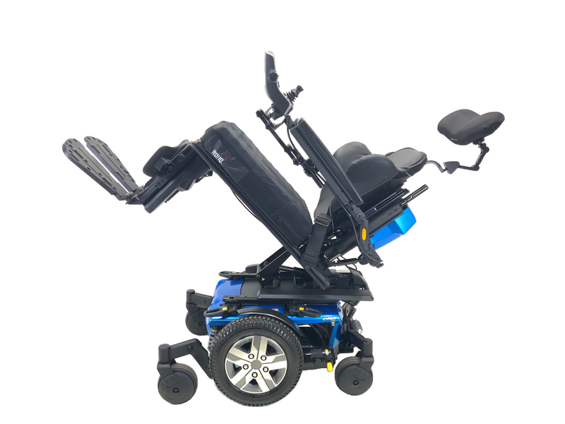 "Tilted 2018 Quantum Q6 Edge 2.0 iLevel Power Chair | 18"" x 20"" Seat 