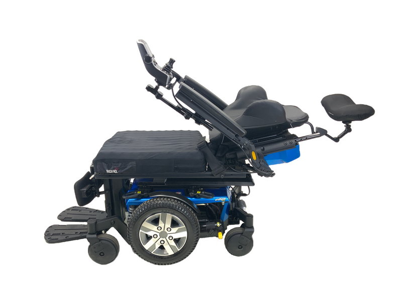 "Reclined 2018 Quantum Q6 Edge 2.0 iLevel Power Chair | 18"" x 20"" Seat 