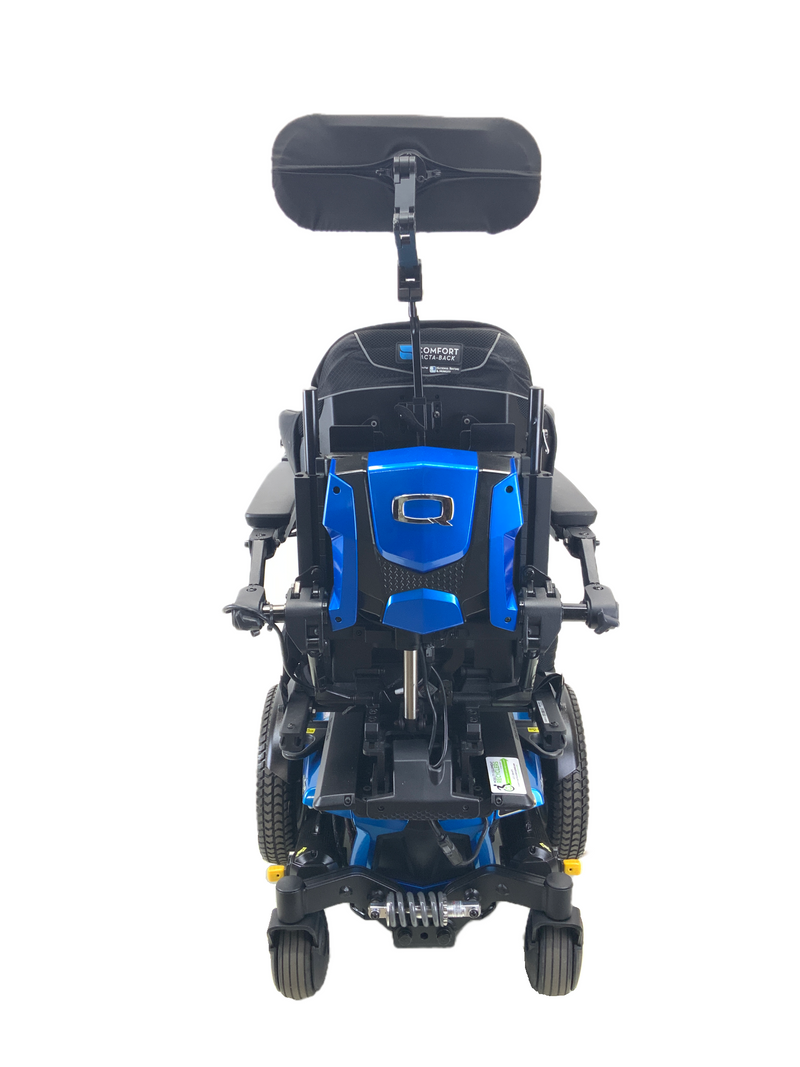"Back of 2018 Quantum Q6 Edge 2.0 iLevel Power Chair | 18"" x 20"" Seat 