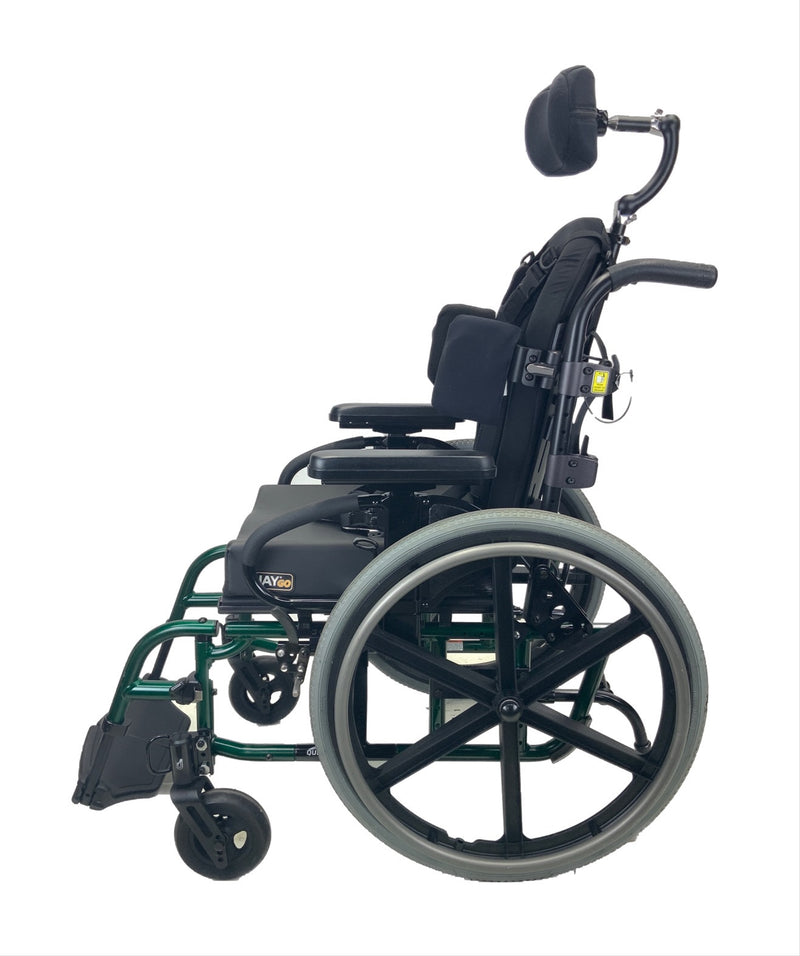 Side of Sunrise Medical Quickie 2 Manual Wheelchair | 16 x 16