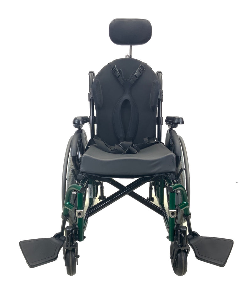 Swung open Sunrise Medical Quickie 2 Manual Wheelchair | 16 x 16