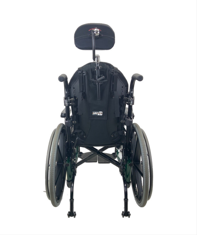 Back of Sunrise Medical Quickie 2 Manual Wheelchair | 16 x 16