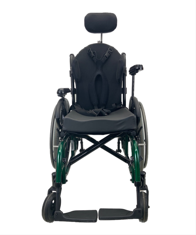 Raised arm on Sunrise Medical Quickie 2 Manual Wheelchair | 16 x 16