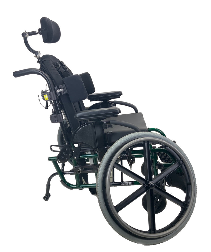 Removed wheels on Sunrise Medical Quickie 2 Manual Wheelchair | 16 x 16