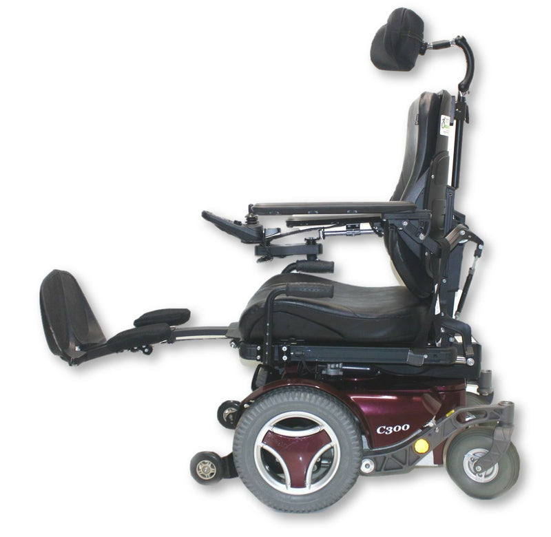 "Permobil C300 Power Chair | Elevate, Tilt, Recline & Legs | 20""x20"" Seat - Power Chairs Test"