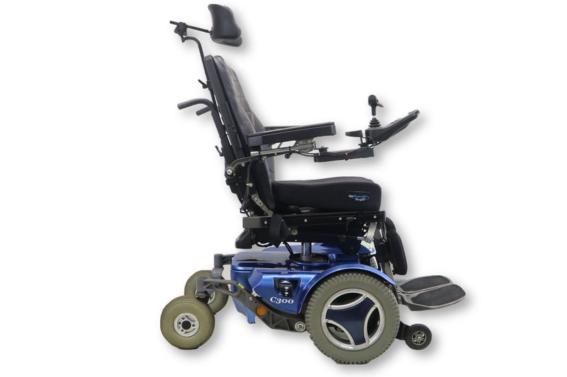 "Permobil C300 Power Chair | Tilt Functions | 16"" x 17"" Seat 