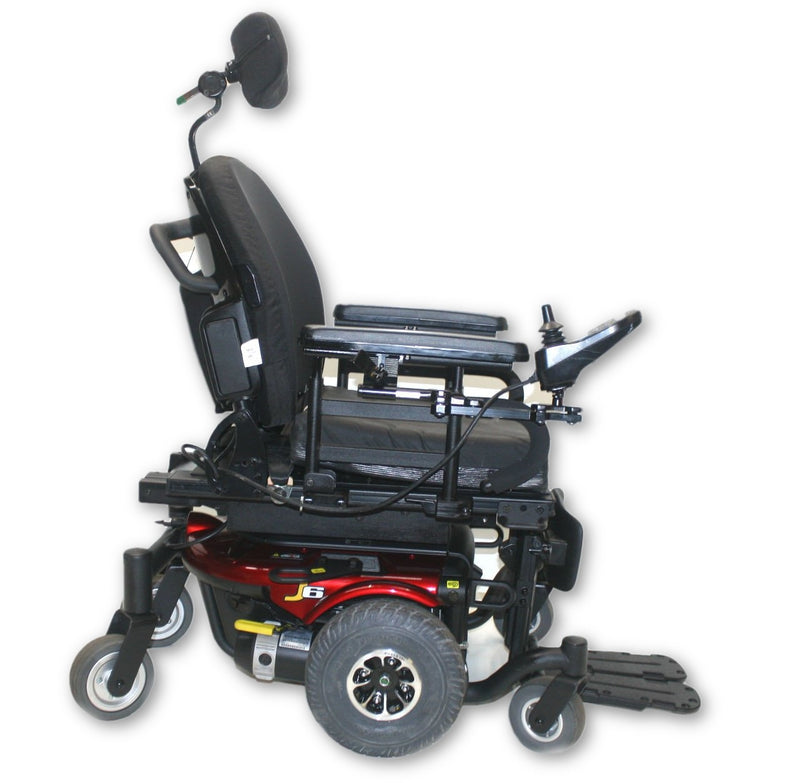 "Pride Jazzy J6 Compact Power Chair | Power Tilt | 18"" x 16"" Seat - Power Chairs Test"