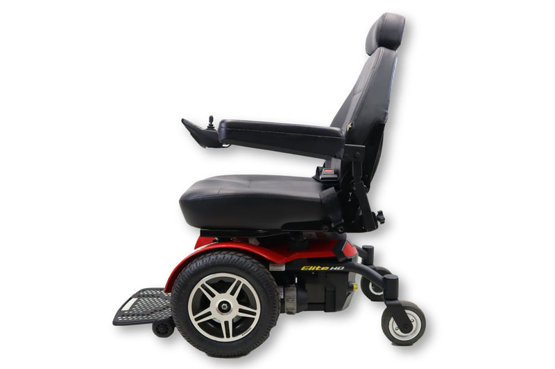 Jazzy Elite HD Electric Wheelchair | Bariatric | 450 lbs. Weight Capacity - Power Chairs Test