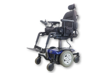 "Pride Quantum Q6 Edge Power Chair | Seat Elevate & Tilt | 17"" x 20"" Seat"