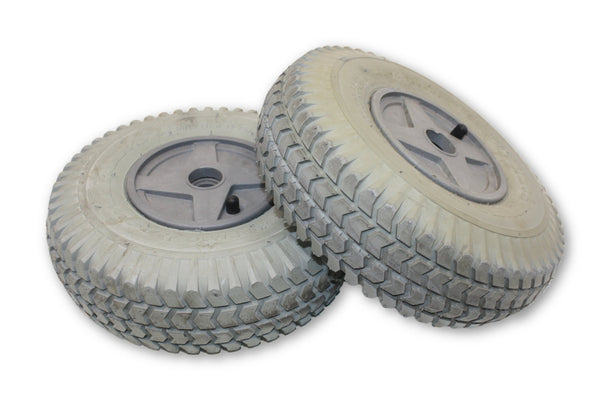 "PR1MO Power-Trax Pneumatic 3.00-4 (10""x3"") Replacement Wheels 