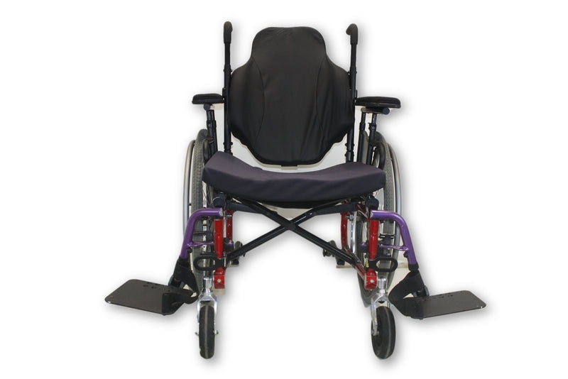 "Invacare ProSPIN X4 Lightweight Folding Manual Wheelchair | 20""x19"" Seat - Power Chairs Test"