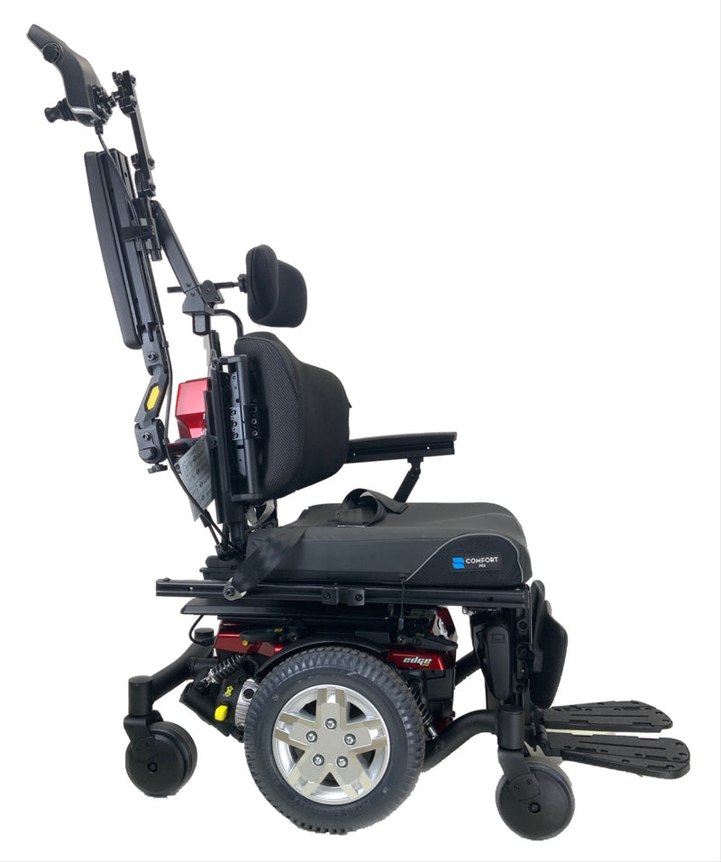 Quantum Edge HD Rehab Power Chair with arms up