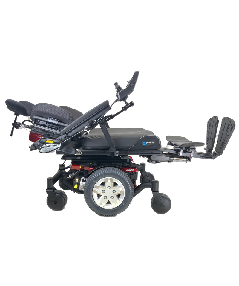 Quantum Edge HD Rehab Power Chair with recline and legs