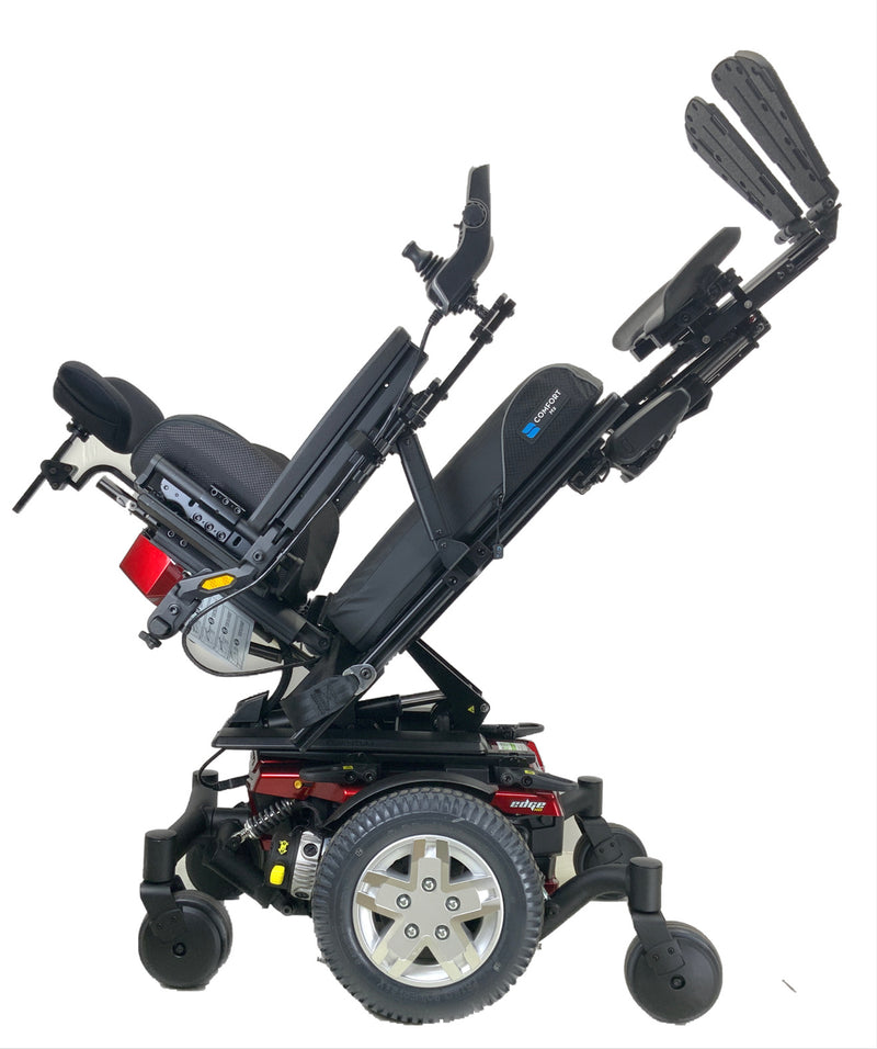 Quantum Edge HD Rehab Power Chair with tilt and legs