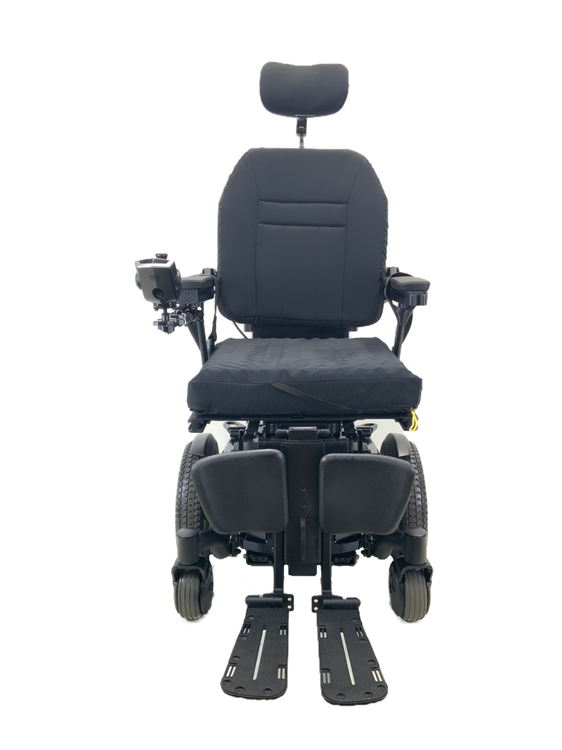 Quantum Q6 Edge HD Power Chair | 19 x 21 Seat | Tilt, Recline, Power Legs | Only 12 Miles