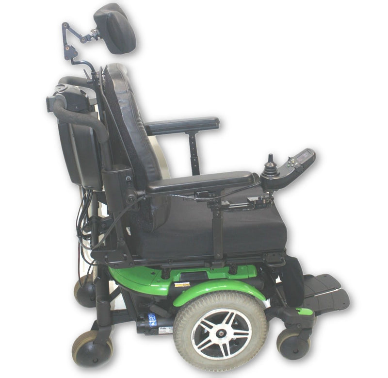 "Quantum 600 Power Wheelchair | Tilt, Recline & Legs | 18"" x 19"" Seat - Power Chairs Test"
