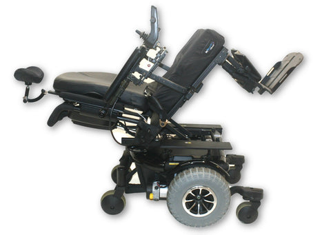 Quantum 600 Off-Road Power Chair | Pride Mobility | HD Knobby Tires | 20