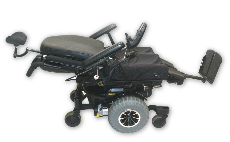 "Quantum 600 Off-Road Power Chair | Pride Mobility | HD Knobby Tires | 20"" x 20"" - Power Chairs Test"