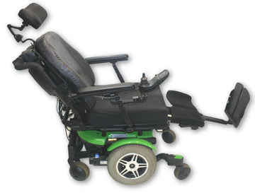 "Quantum 600 Power Wheelchair | Tilt, Recline & Legs | 18"" x 19"" Seat"