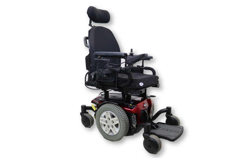 "Quantum Q6 Edge Electric Wheelchair | Mid Wheel Drive | 17"" x 19"" Foam Cushion 