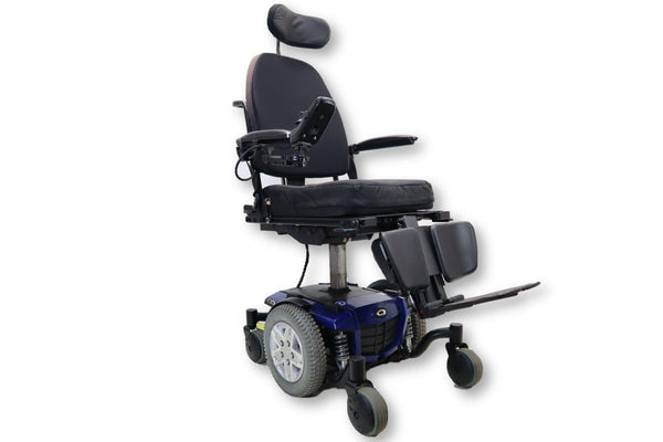 Quantum Q6 Edge Electric Wheelchair | Seat Elevate | Tilt | Recline| Power Legs | 18