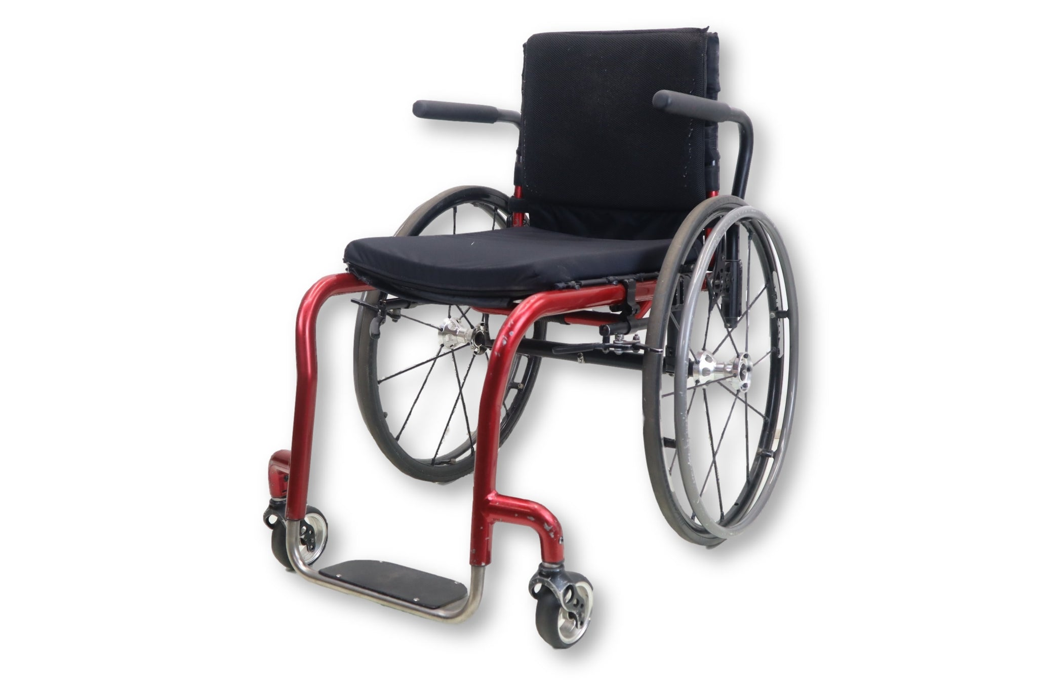 Quickie Rigid Lightweight Aluminum Frame Manual Wheelchair | 16