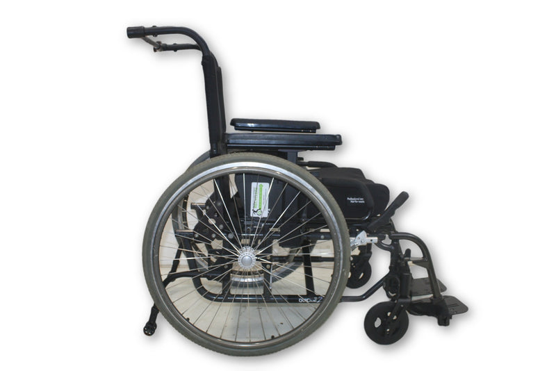 Sunrise Medical Quickie 2 Manual Wheelchair | High Back | Lightweight Design - Power Chairs Test