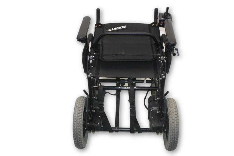 "Quickie P-100 Power Chair By Sunrise Medical | Removable Leg Rests | 17"" x 16"" Seat - Power Chairs Test"